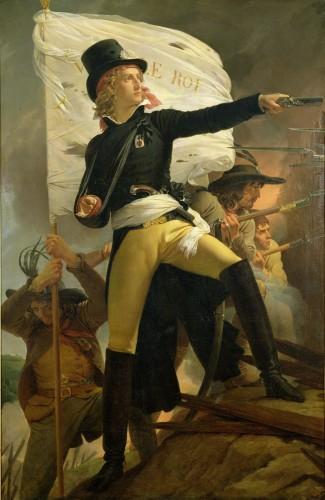 Henri de La Rochejaquelein, 1817 by Baron Pierre-Narcisse Guerin