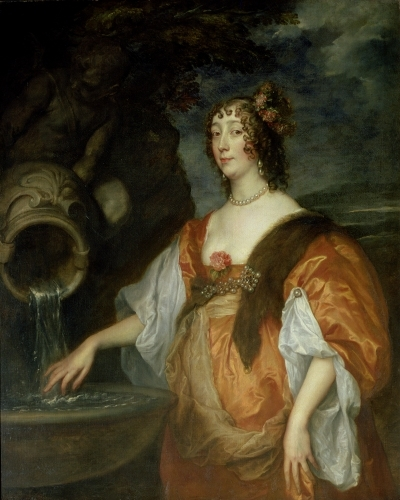 Portrait of Lucy Percy, Countess of Carlisle c.1637 by Sir Anthony Van Dyck