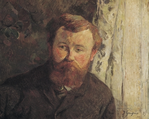 Portrait of Achille Granchi Taylor, 1885 by Paul Gauguin