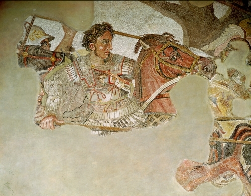The Alexander Mosaic by Roman Art