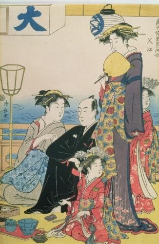 Women of the Gay Quarters by Torii Kiyonaga
