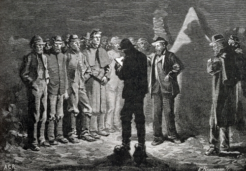 Confederate Roll-call by Allen Carter Redwood