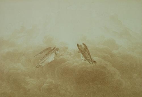 Angel in Prayer, c.1826 by Caspar David Friedrich
