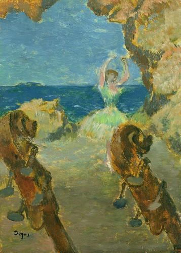 The Ballet Dancer, 1891 by Edgar Degas