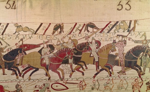 Bishop Odo from The Bayeux Tapestry by English or French School