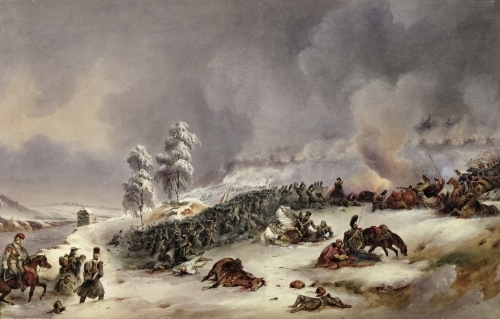 Battle of Krasnoi, 18th November 1812 by Jean Antoine Simeon Fort