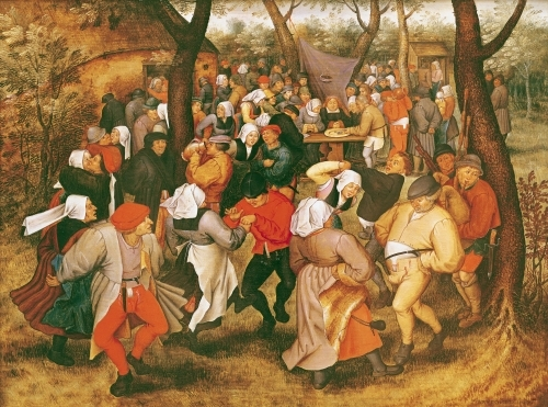 The Wedding Dance, 1607 by Pieter Brueghel The Younger