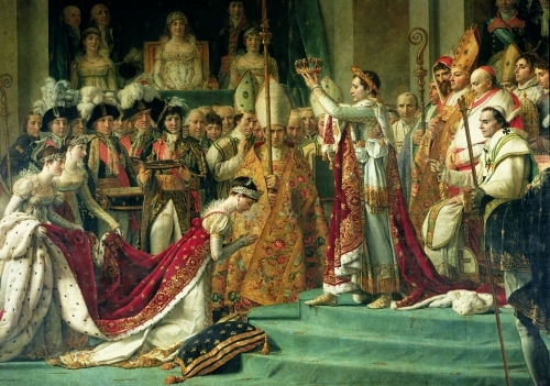 The Consecration of the Emperor Napoleon, 1806 by Jacques-Louis David