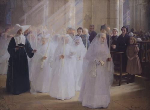 Solemn Communion by Jules Triquet