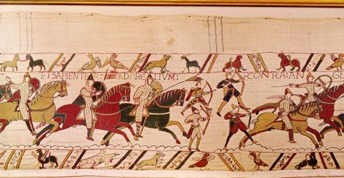 Bayeaux Tapestry - detail IV by English or French School