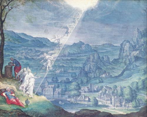 Jacob's Dream by Johann Wilhellm Baur