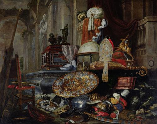 Allegory of the Vanities of the World, 1663 by Pieter Boel