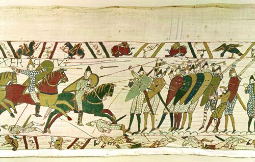Bayeaux Tapestry - detail VI by English or French School