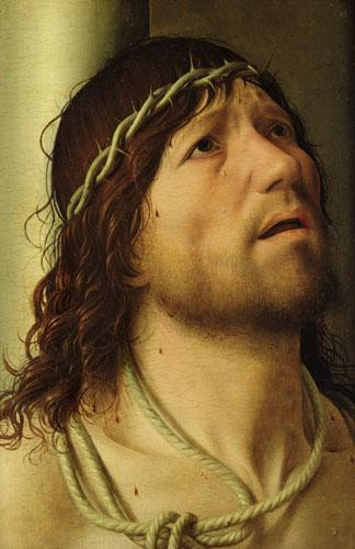 Christ at the Column, c.1475 by Antonello da Messina