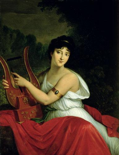Portrait of Madame de la Pleigne by Baron Francois Pascal Simon Gerard
