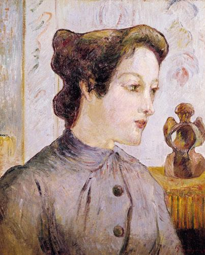 Portrait of a Young Woman, 1886 by Paul Gauguin