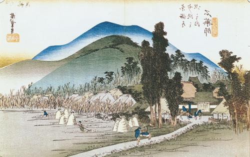 Ishiyakushi, 1833 by Ando Hiroshige