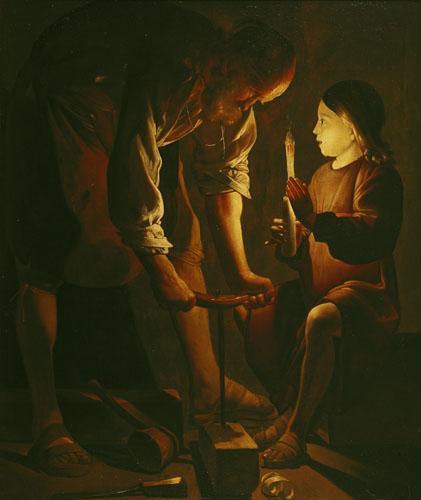 St. Joseph the Carpenter c.1640 by Georges De La Tour