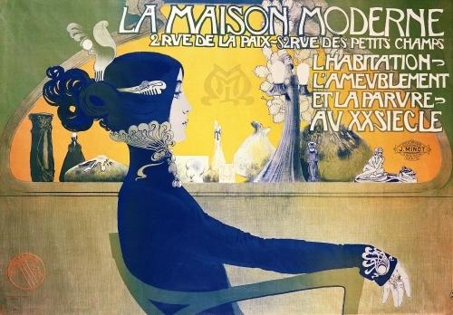 La Maison Moderne c.1902 by Manuel Orazi