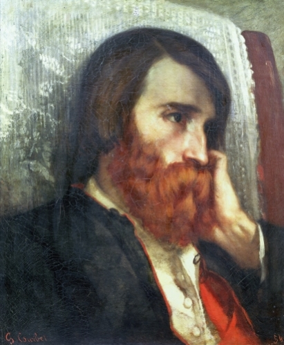 Portrait of Alfred Bruyas by Gustave Courbet