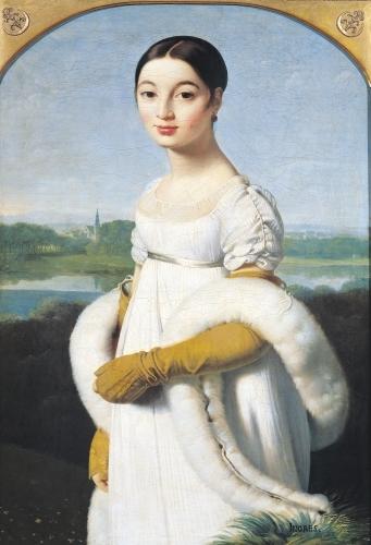 Portrait of Mademoiselle Caroline Riviere 1805 by Jean-Auguste-Dominique Ingres