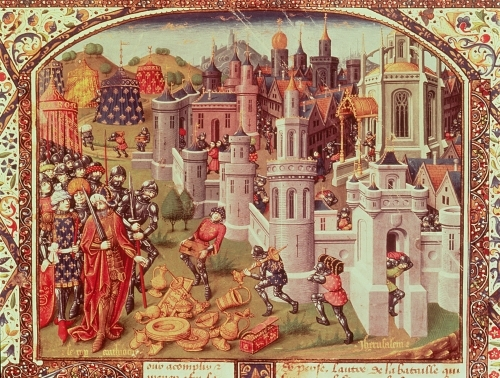 The Looting of Jerusalem 1099 by Jean de Courcy
