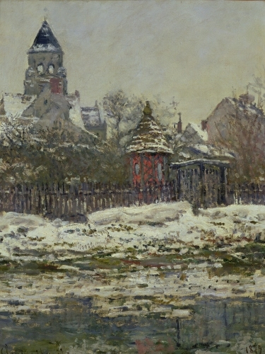 The Church at Vetheuil 1879 by Claude Monet