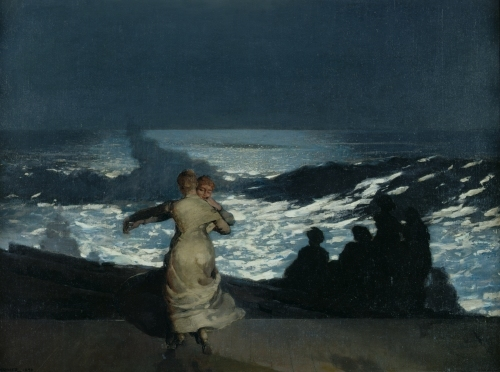 Summer Night 1890 by Winslow Homer