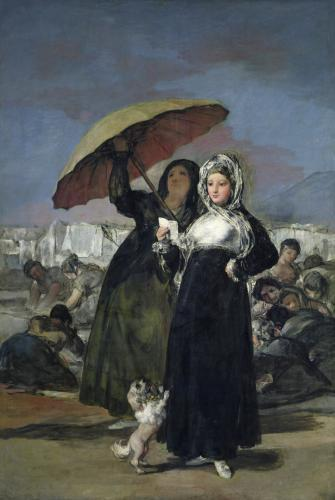 The Letter or The Young Women c.1814 by Francisco de Goya
