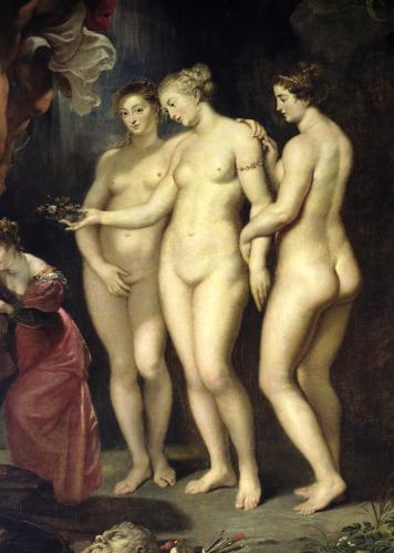 Education of Marie de Medici (Detail) by Peter Paul Rubens