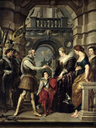 Henri IV by Peter Paul Rubens