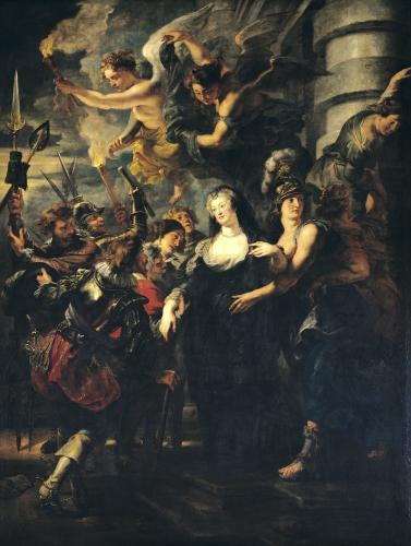 Marie de Medici Escaping from Blois by Peter Paul Rubens