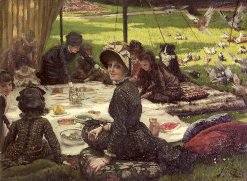 The Picnic c.1881 by James Jacques Joseph Tissot