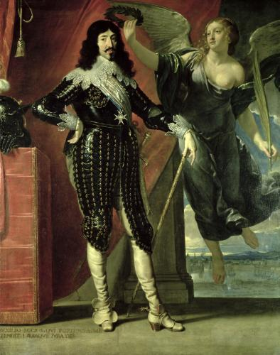 Louis XIII Crowned by Victory 1635 by Philippe de Champaigne