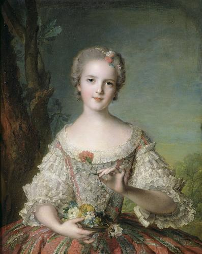 Portrait of Madame Louise de France at Fontevrault 1748 by Jean-Marc Nattier