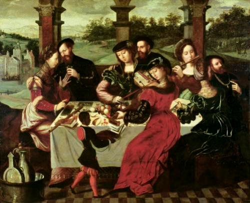 The Concert after the Meal by Ambrosius Benson