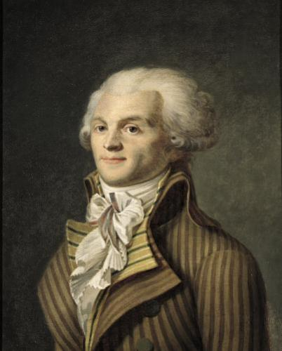 Portrait of Maximilien de Robespierre by French School