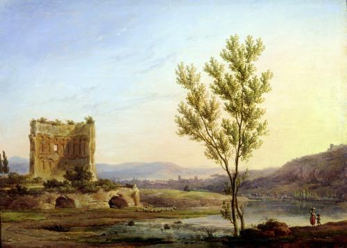 View of the Outskirts of Rome by Pierre Henri de Valenciennes