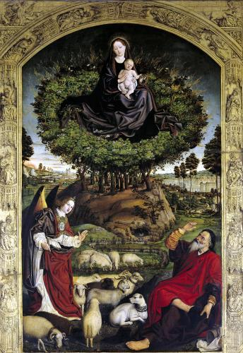 Madonna and Child by Nicolas Froment