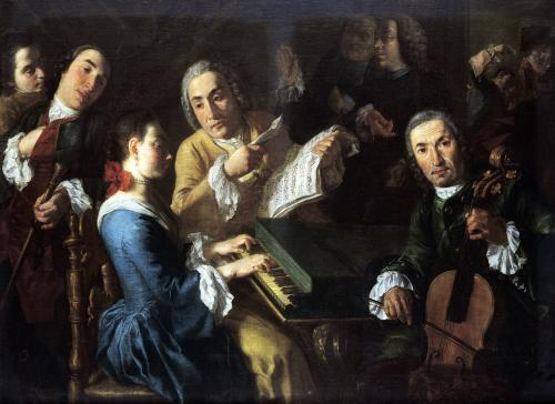 The Concert c.1755 by Gaspare Traversi