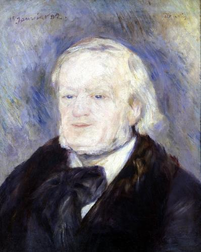 Portrait of Richard Wagner 1882 by Pierre Auguste Renoir