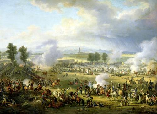The Battle of Marengo 1801 by Louis Lejeune