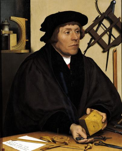 Portrait of Nicholas Kratzer 1528 by Hans Holbein The Younger
