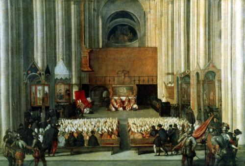 The Council of Trent 1563 by Italian School