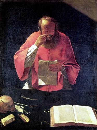 St.Jerome reading by Georges De La Tour