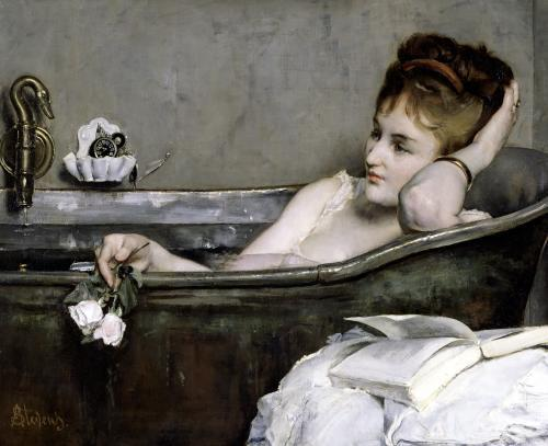 The Bath c.1867 by Alfred George Stevens