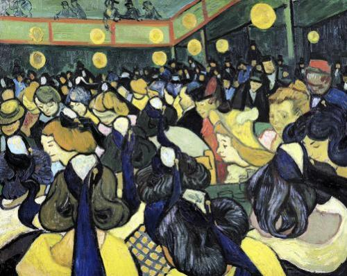 The Dance Hall at Arles 1888 by Vincent Van Gogh