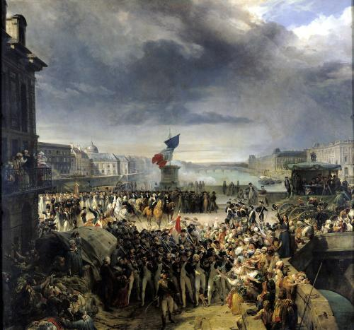 The Garde Nationale de Paris c.1833 by Leon Cogniet
