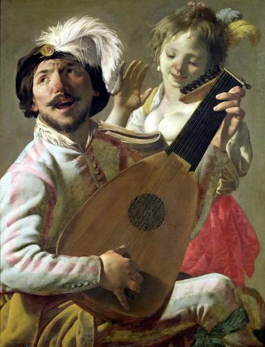 The Duet 1628 by Hendrick Ter Brugghen