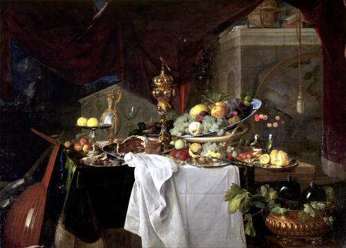 Still Life 1640 by Jan Davidsz de Heem